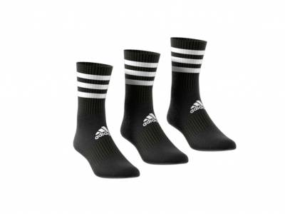 adidas 3-Stripes Cushioned Crew Socken 3er Pack