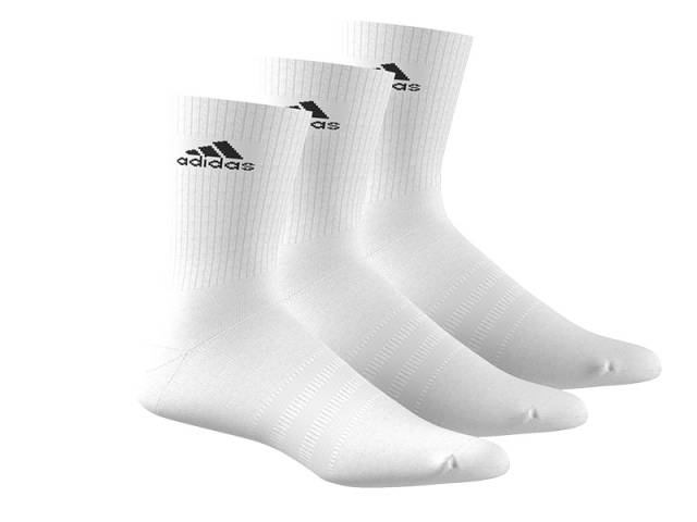 adidas 3S Performance Crew Half cushioned Socken 3er Pack