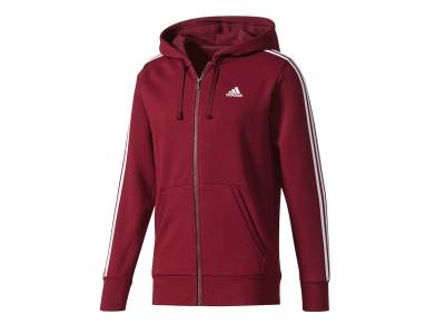 adidas Essentials 3 Stripes Full Zip Fleece-Hoodie