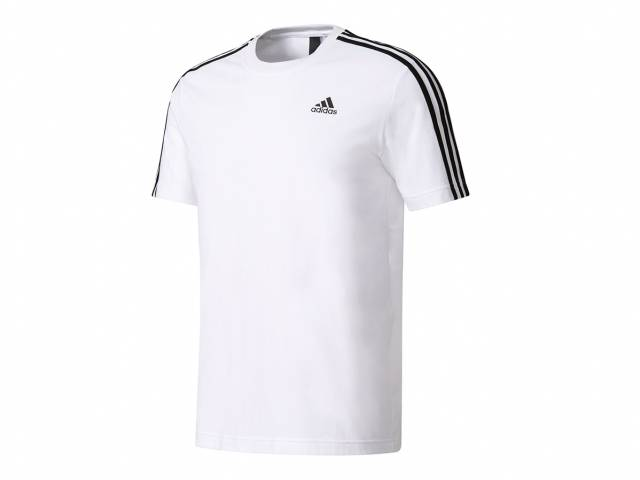 adidas Essentials 3 Stripes Tee