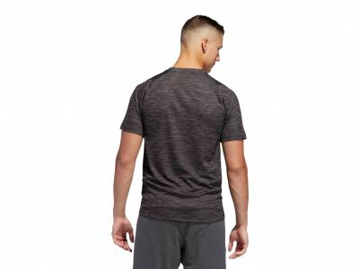 adidas FreeLift Tech Fitted Striped Heathered T-Shirt (Herren)