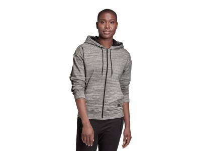 adidas Must Haves Mélange Kapuzenjacke (Damen)