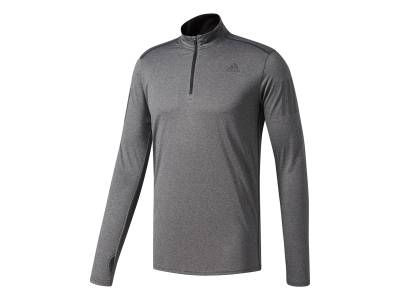 adidas Response 1/2 Zip Long Sleeve Tee
