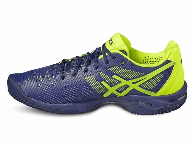 Asics Gel Solution Speed 3 Tennisschuhe (Herren - Blau/Gelb)