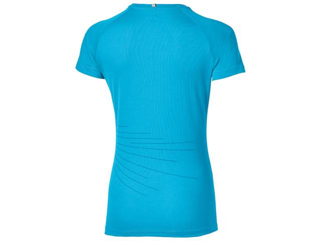Asics Laufshirt Lite-Show Graphic Top Short Sleeve (Damen)