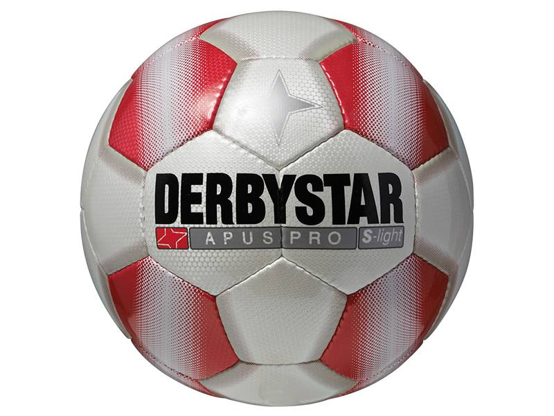 Derbystar Apus Pro S-Light, weiß/rot