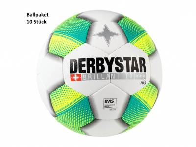 Derbystar Ballpaket Brillant TT AG (10 Stück)