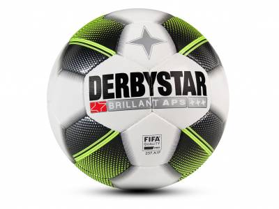 Derbystar Brillant APS Jupiler League, weiß-schwarz-gelb