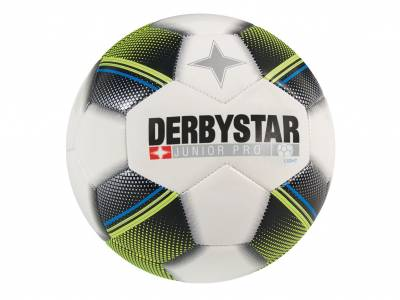 Derbystar Junior Pro Light, weiß-schwarz-blau
