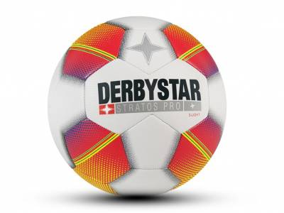 Derbystar Stratos Pro S-Light, weiß-orange