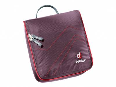 Deuter Wash Center II, aubergine-fire