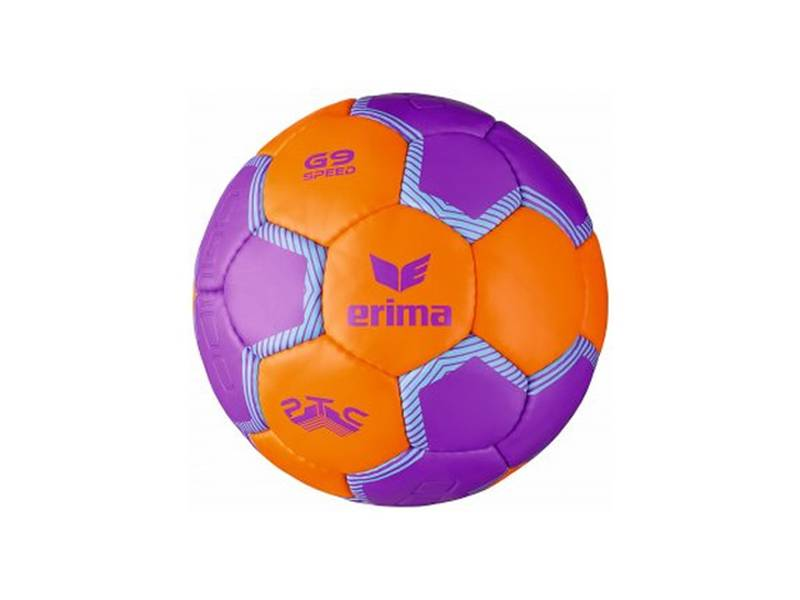 Erima G9 Speed Trainingsball, orange-lila