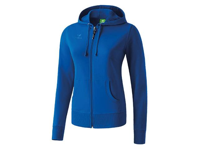 Erima Hooded Jacket, blau (Damen)