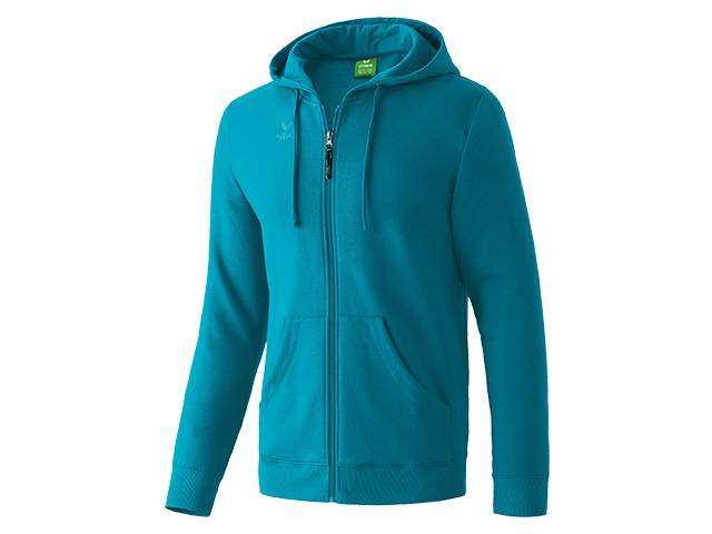 Erima Hooded Jacket, petrol