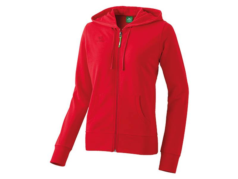 Erima Hooded Jacket, rot (Damen)