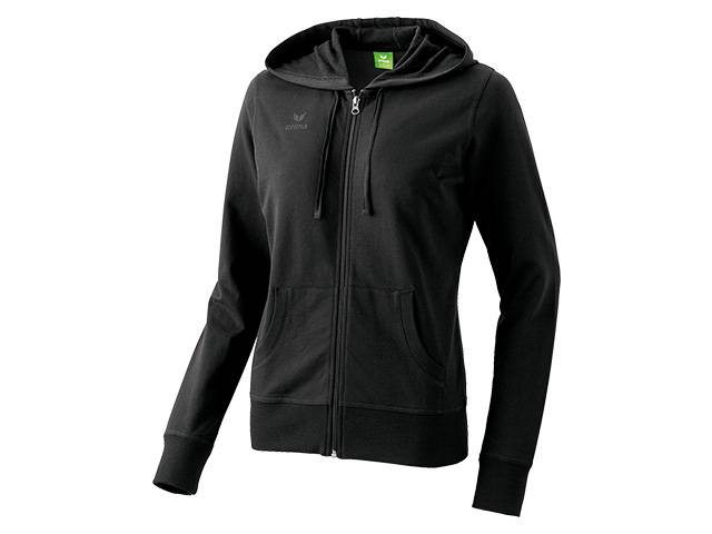 Erima Hooded Jacket, schwarz (Damen)
