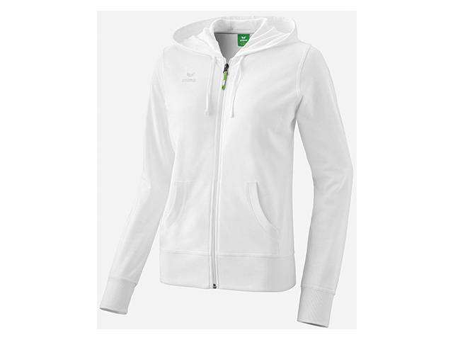 Erima Hooded Jacket, weiß (Damen)