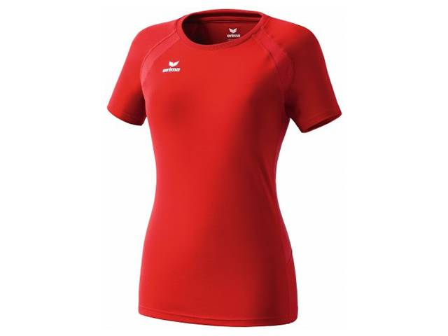Erima Performance T-Shirt für Damen, rot