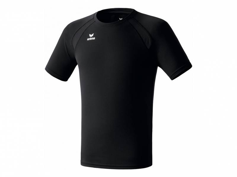 Erima Performance T-Shirt, schwarz
