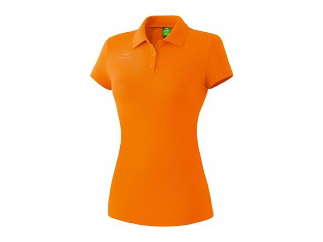 Erima Poloshirt Teamsport für Damen, orange