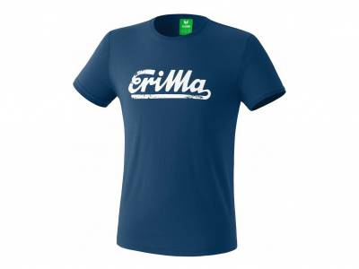 Erima Retro T-Shirt King, crude oil/white