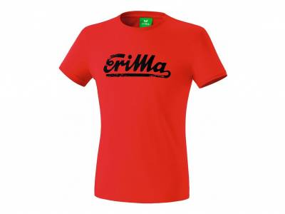 Erima Retro T-Shirt King, rot