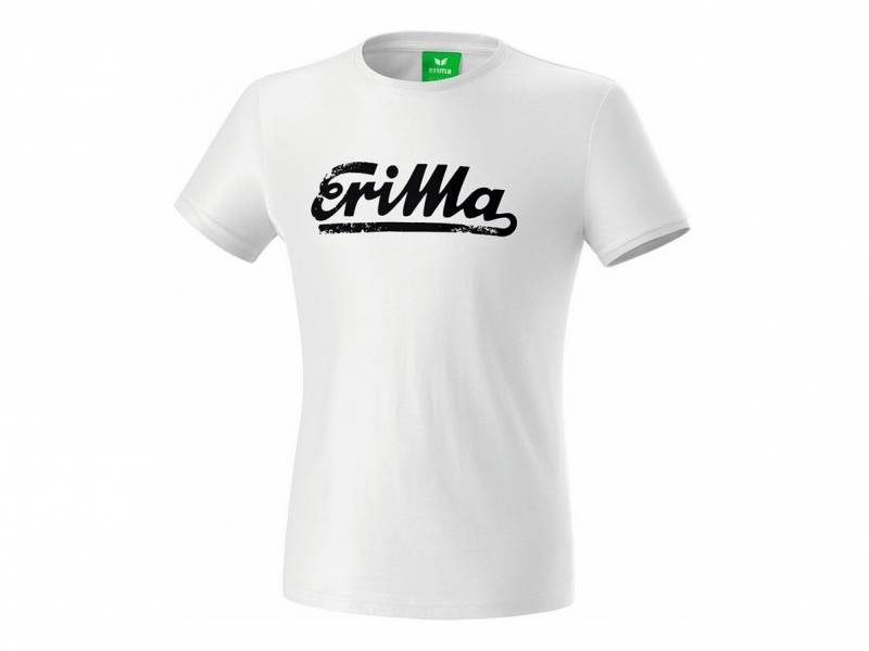Erima Retro T-Shirt King, weiß