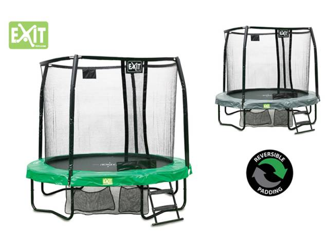 EXIT Gartentrampolin JumpArenA All-in 1, ø 2,44 m