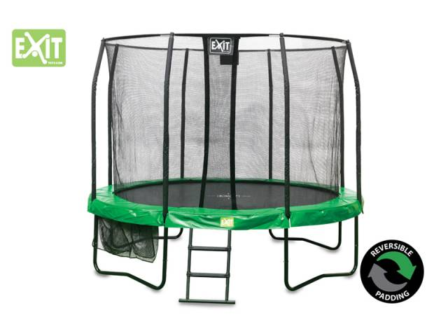 EXIT Gartentrampolin JumpArenA All-in 1, ø 3,66 m