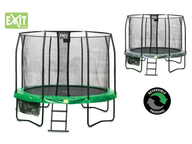 EXIT Gartentrampolin JumpArenA All-in 1, ø 4,27 m