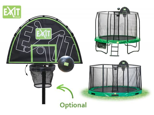 EXIT Gartentrampolin JumpArenA All-in 1, ø 4,57 m