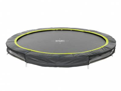 EXIT Silhouette Bodentrampolin, ø 4,27 m