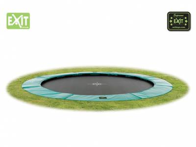 EXIT Supreme Ground Level 427 Gartentrampolin, ø427cm