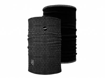 H.A.D. Next Level Reversible Neckwarmer, Apollon Black, Fleece Black