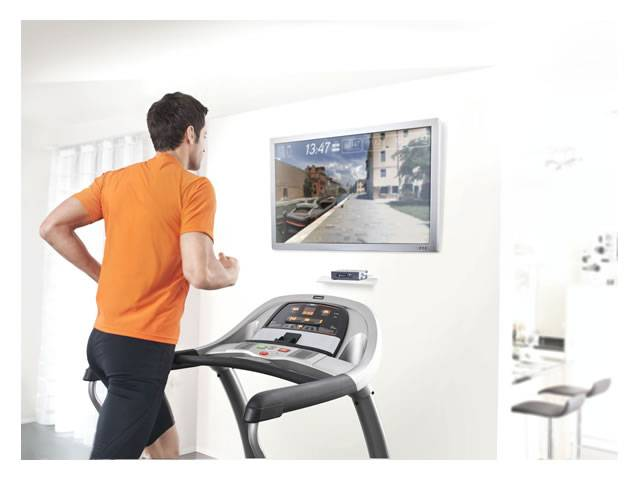 Horizon Fitness Passport Media Player