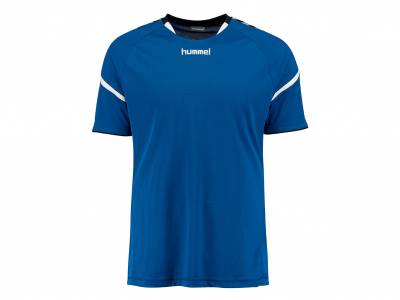 hummel Auth. Charge SS Poly Jersey (Herren), blau