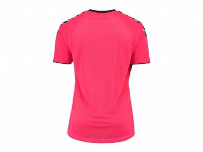 hummel Auth. Charge SS Poly Jersey (Herren), bright rose