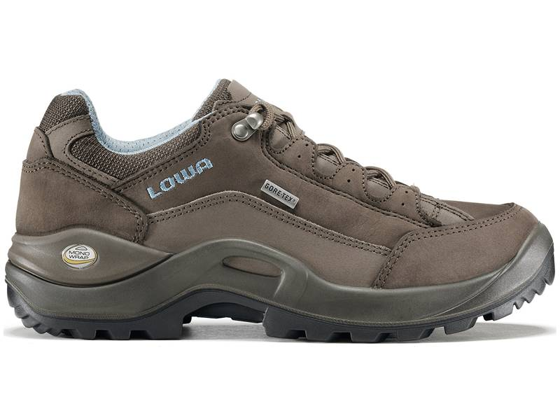 Lowa Renegade GTX Low Ws (Damen - Braun/Denim)