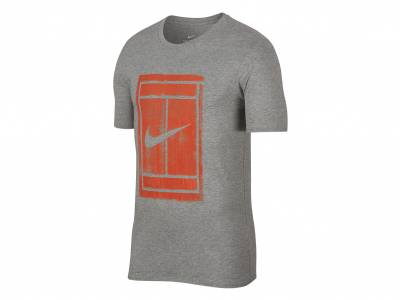 Nike Court Tennis-T-Shirt (Herren)