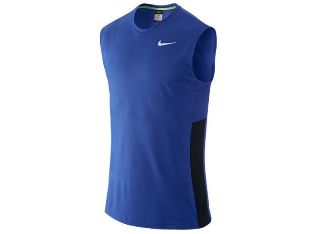 Nike Crossover Sleeveless, blau