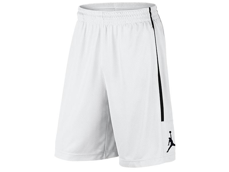 Nike Double Crossover Short, weiß