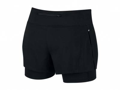 Nike Eclipse 2-in-1-Laufshorts (Damen)