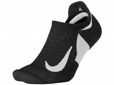 Nike Elite Cushioned No-Show Laufsocken