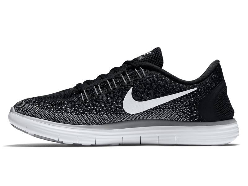 nike free run distance 2016 schwarz damen laufschuhe. Black Bedroom Furniture Sets. Home Design Ideas