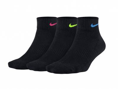 Nike Lightweight Trainings-Socken 3er Pack (schwarz)