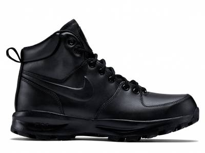 Nike Manoa Leather (Schwarz)
