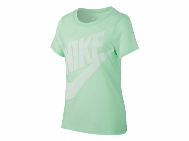 Nike NSW Tee SS Mesh Futura Trainings-T-Shirt (Mädchen)