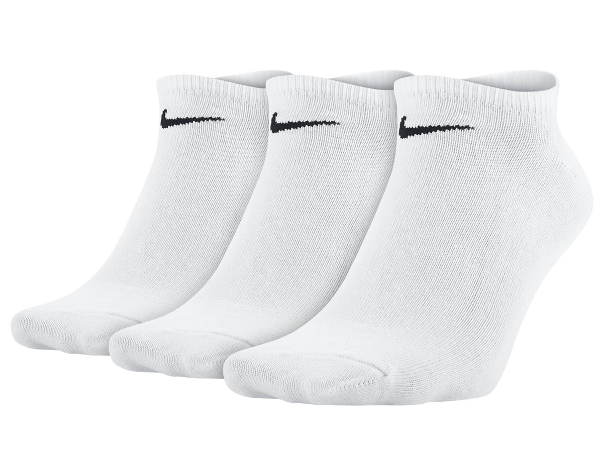Value No Show 3er Pack Sneakersocken (Weiß)