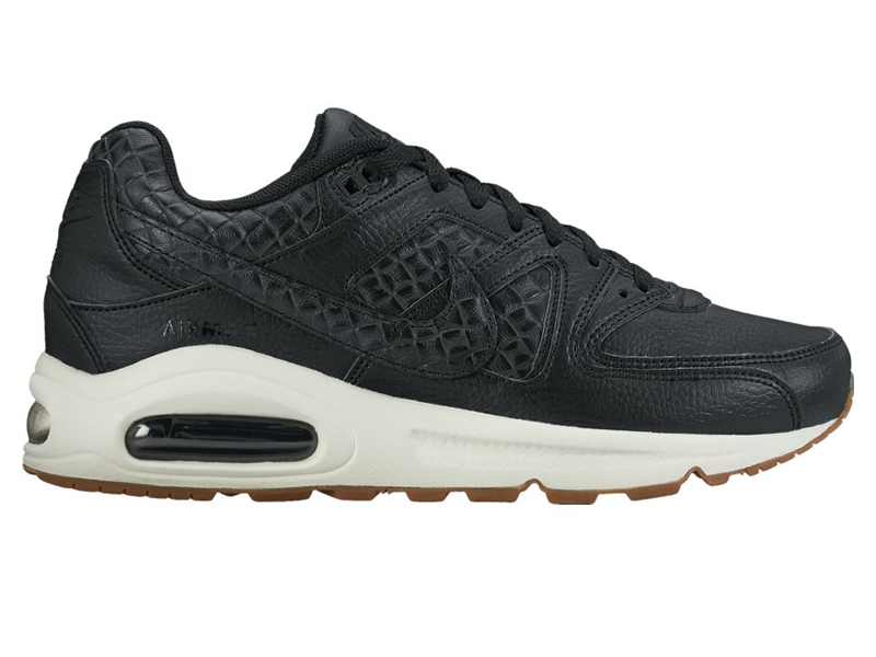 nike wmns air max command premium schwarz sneaker. Black Bedroom Furniture Sets. Home Design Ideas