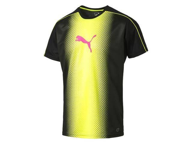 Puma evoTRG Herren Cat Graphic Fußball T-Shirt